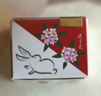 ウサギ饅頭練り香水:沈丁花