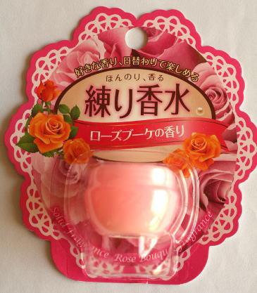 練り香水 ローズブーケの香り